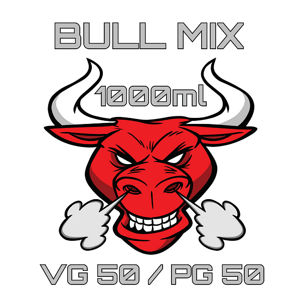 BullMix báze medium VG50 / PG50 1000 ml